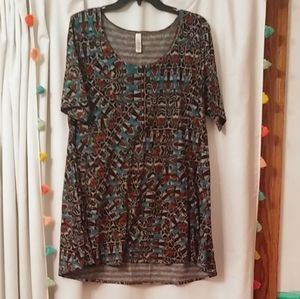 Aztec lularoe perfect T sz XL